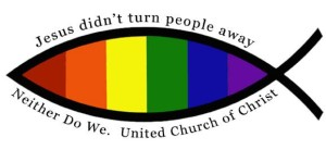 Open and Affirming rainbow logo