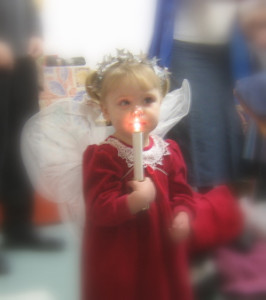 Holidays: Addie the Christmas angel